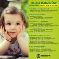 Kluby Rodziców w Ośrodku Kultury Kraków-Nowa Huta