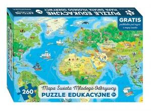 Polska, Europa i Świat Młodego Odkrywcy, czyli super puzzle dla dzieci