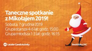 Taneczne spotkanie z Mikołajem 2019!