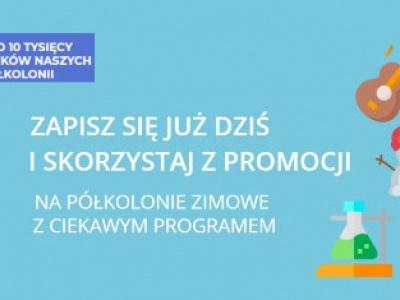 Półkolonie zimowe 2020 w Krakowie z bardzo ciekawym programem