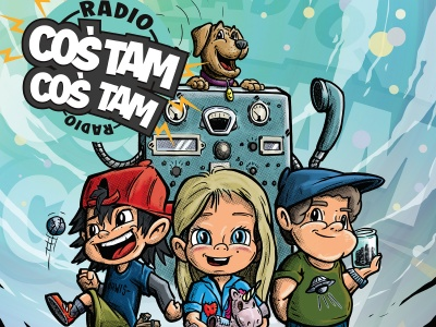 """""""Radio Coś Tam Coś Tam"""" - słuchowiska i piosenki, które pobudzają wyobraźnię"""